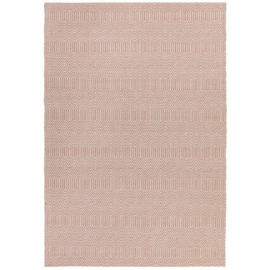 Sloan Pink Geometric Rug