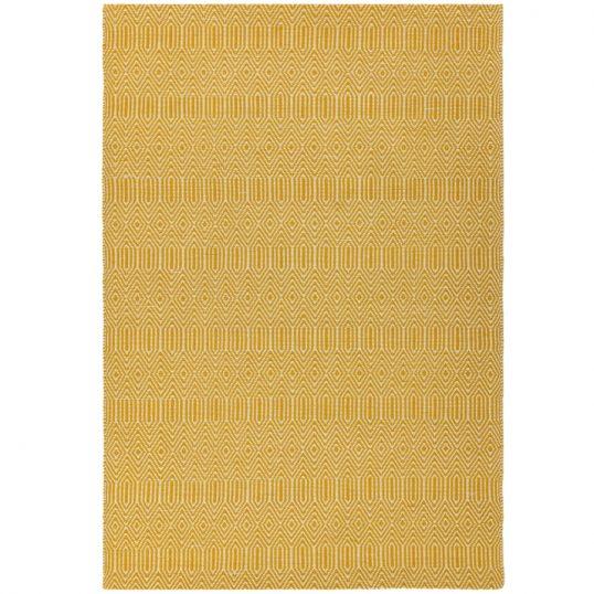 Sloan Mustard Geometric Rug