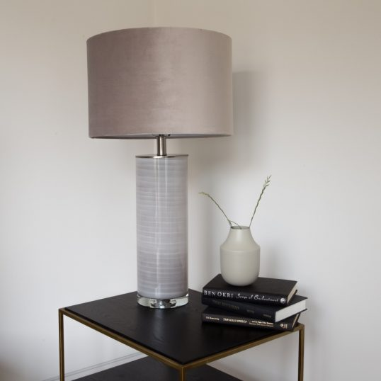 CERAMIC Table Lamp – TAUPE