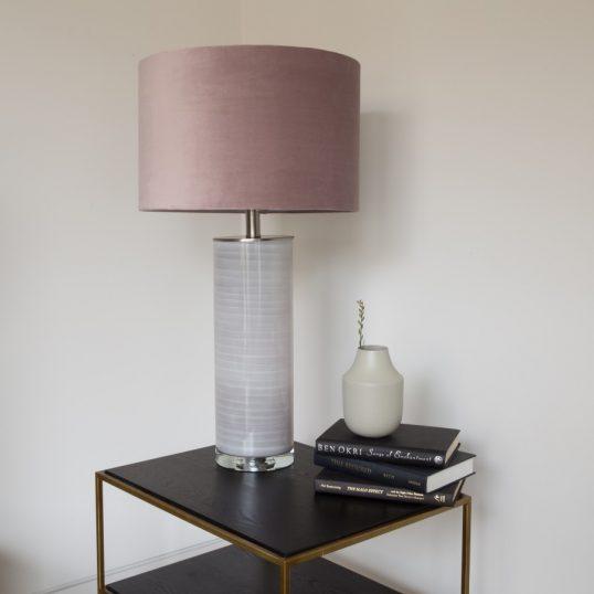 CERAMIC Table Lamp – VINTAGE PINK