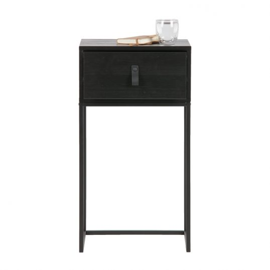 Zola nightstand with drawer